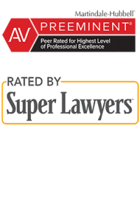 AV Preeminent & Super Lawyers
